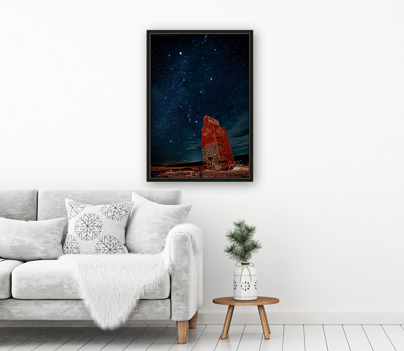 Dorothy Elevator Milky Way  Art