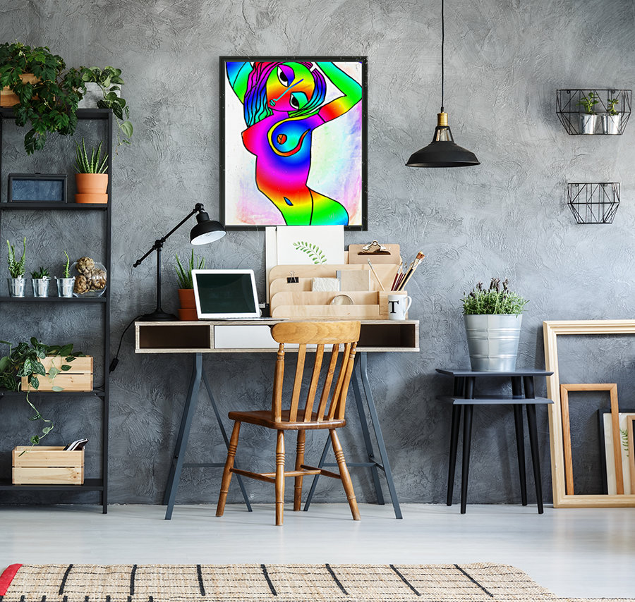 el camino rainbow  Art
