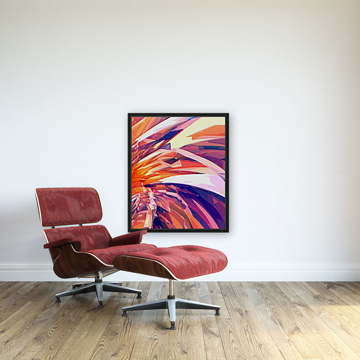 Abstract Composition 695  Art