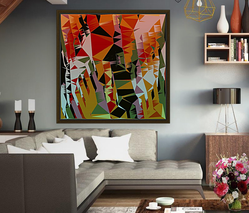 Abstract Composition 636  Art