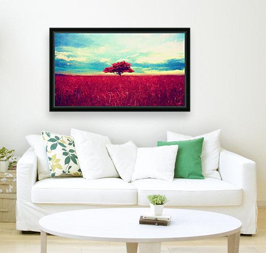 Red Tree  Art