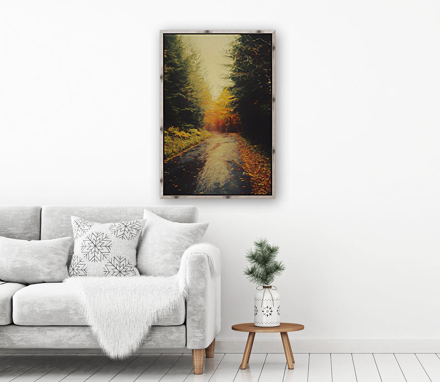 Autumnal Landscape 4  Art