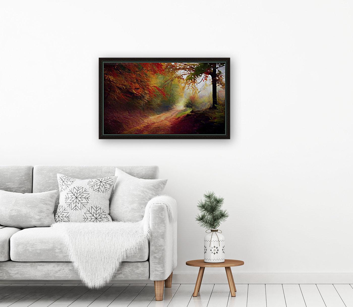 Autumnal Landscape 5  Art