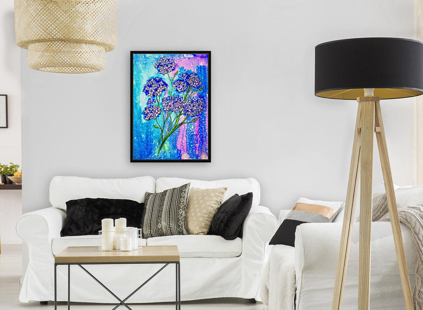 Hydrangeas  Art