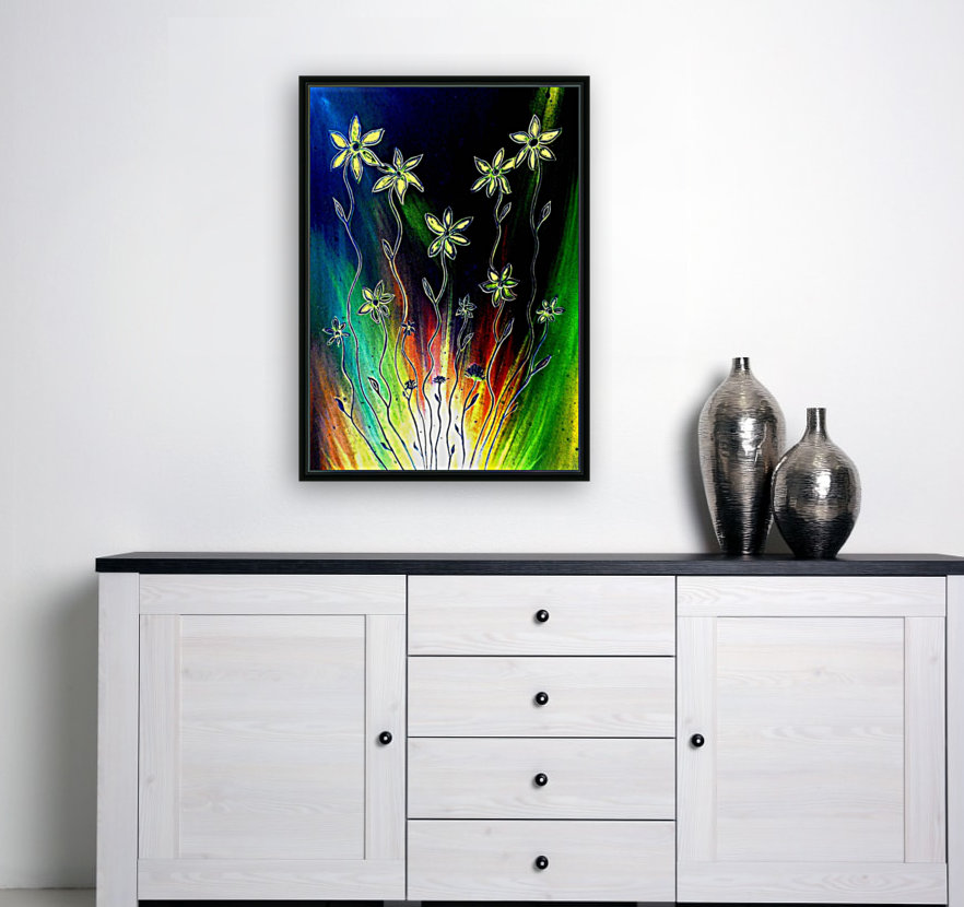 Flower Burst  Art