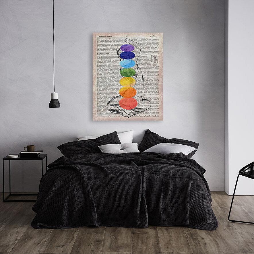 Potential Energy Chakras Colors  Art