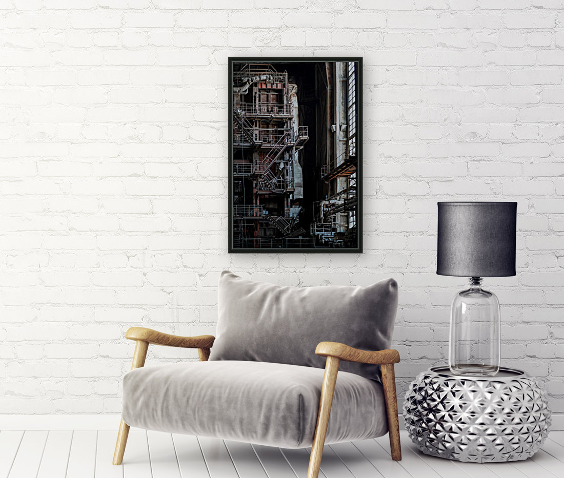Abandoned Blade Runner Factory  Art