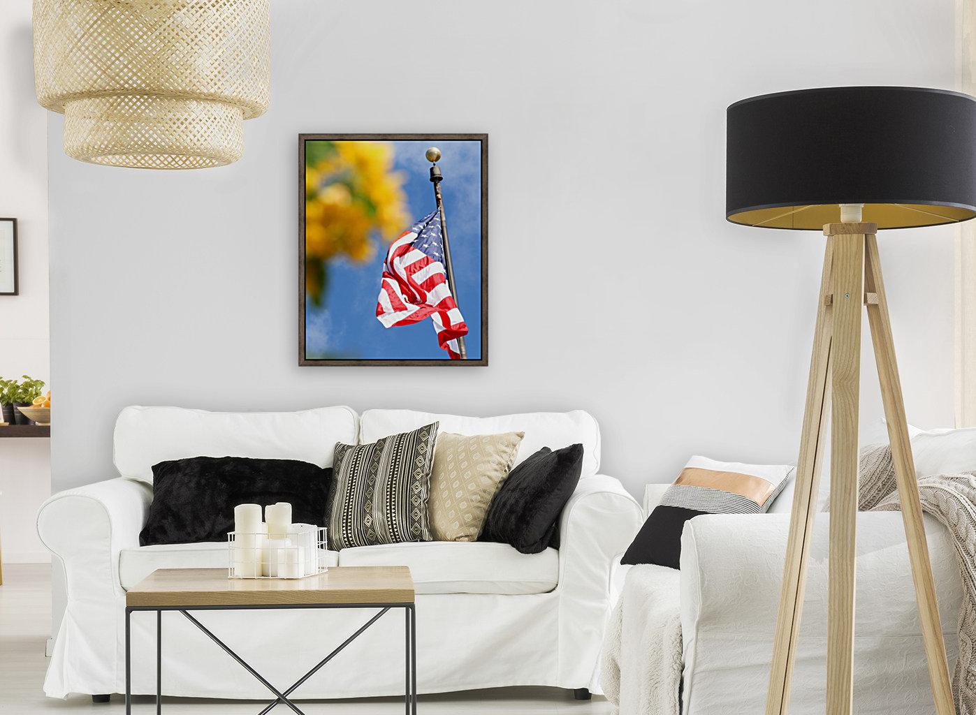 United States Flag  Art