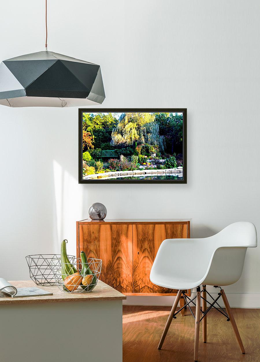 Reflections of a Monet Garden  Art
