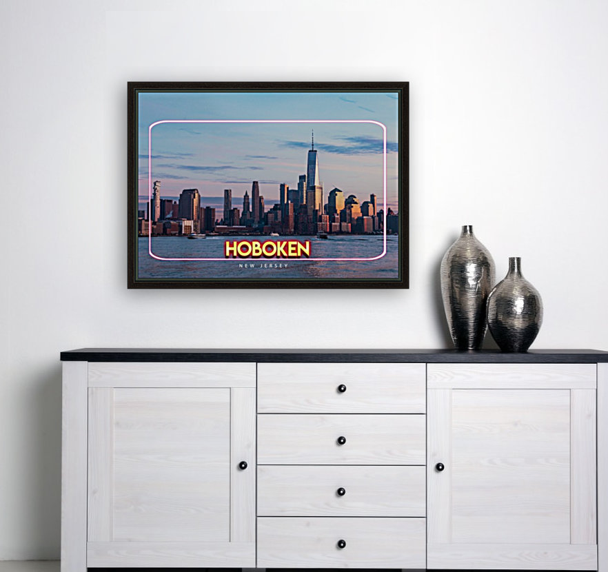 Hoboken   New Jersey with Floating Frame