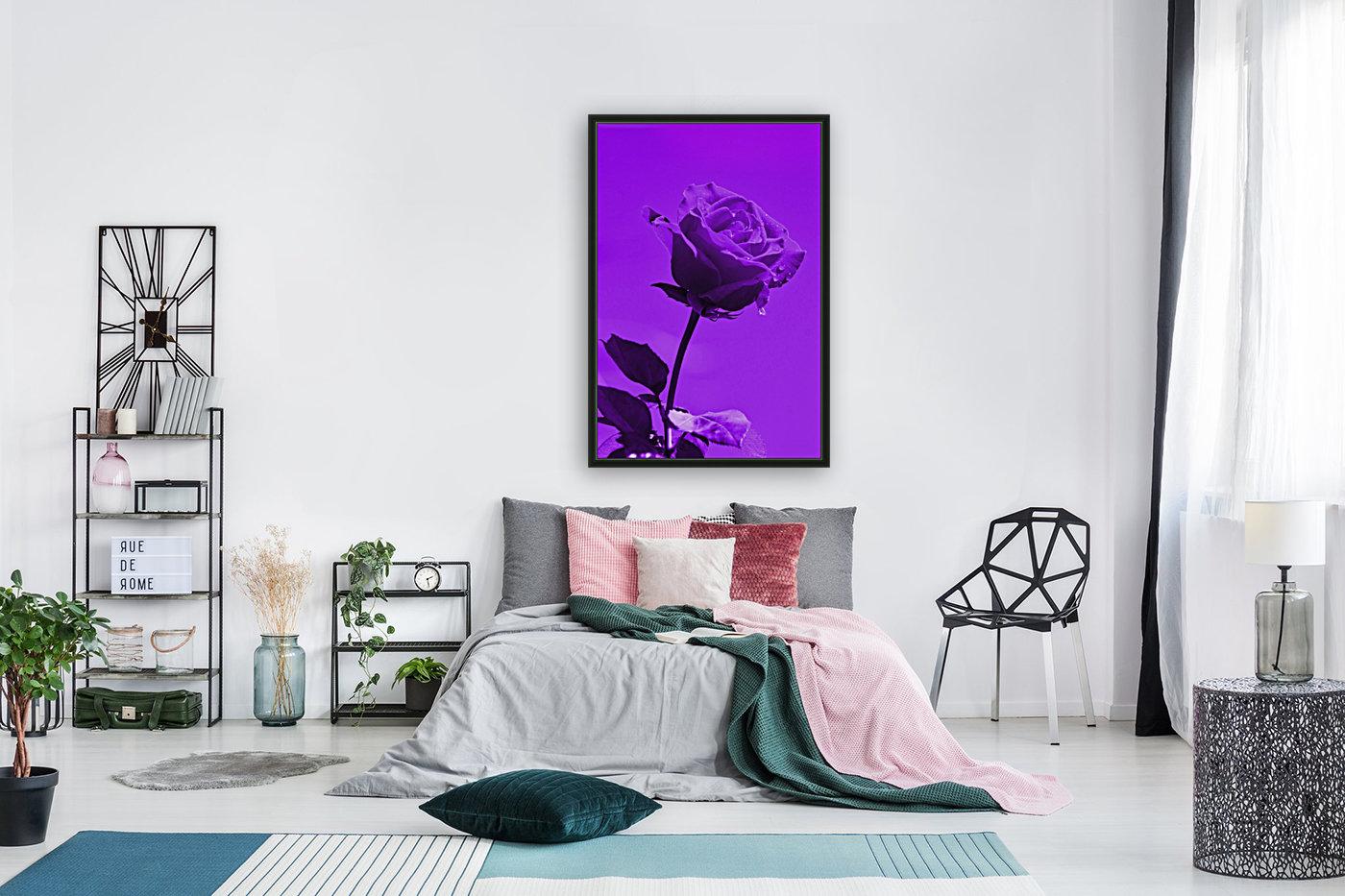 Love Rose purple 8665  Art