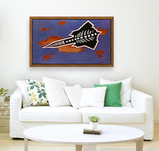 Rocket Ship  Art
