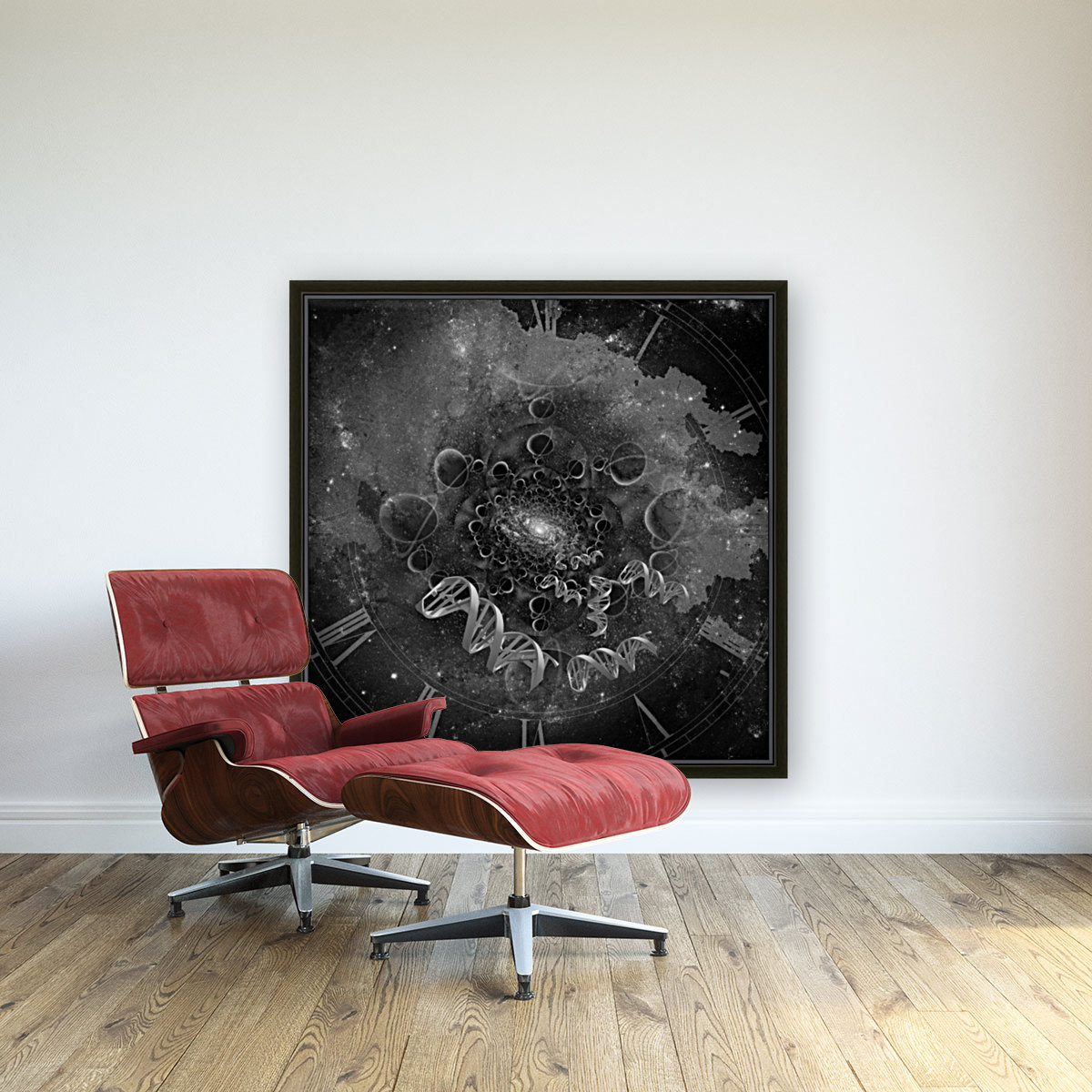 DNA From Space  Art