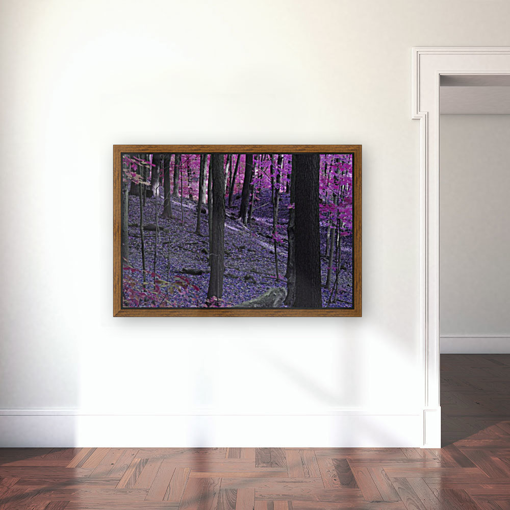 Purple Forest  Art