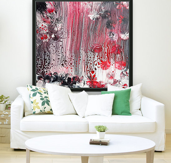 Red forest  Art