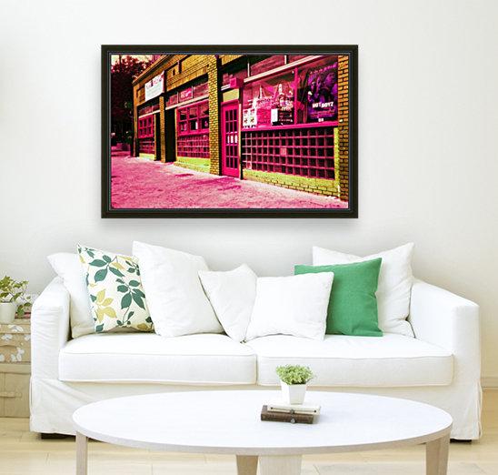 Atlanta Street Scene -- Red  Art