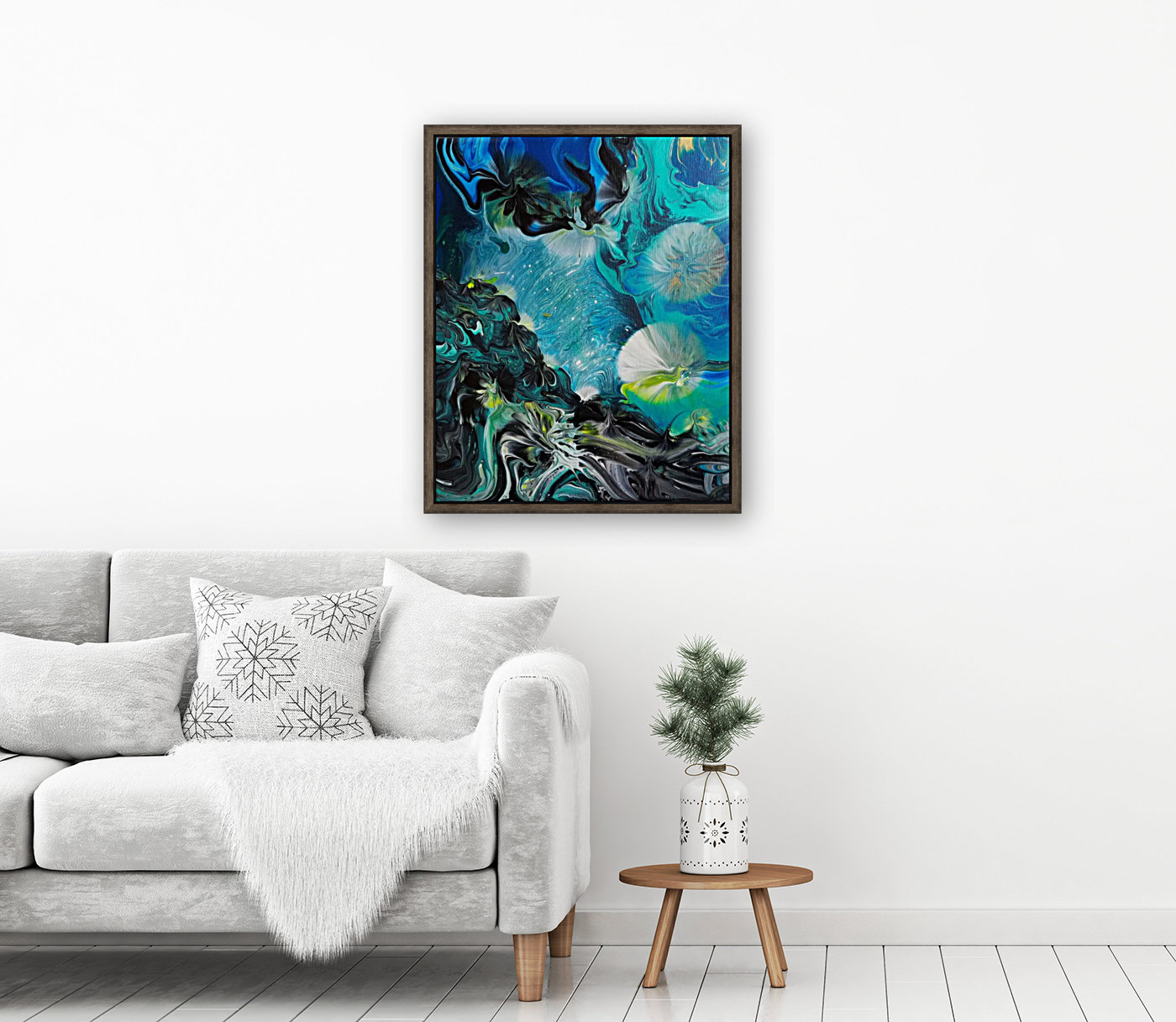 Galactic flowers  Art
