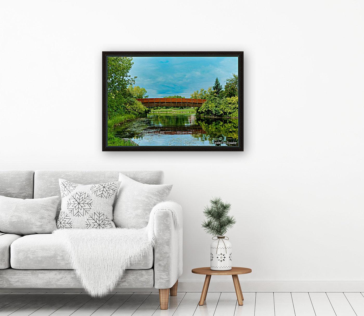 The Lonley Bridge  Art