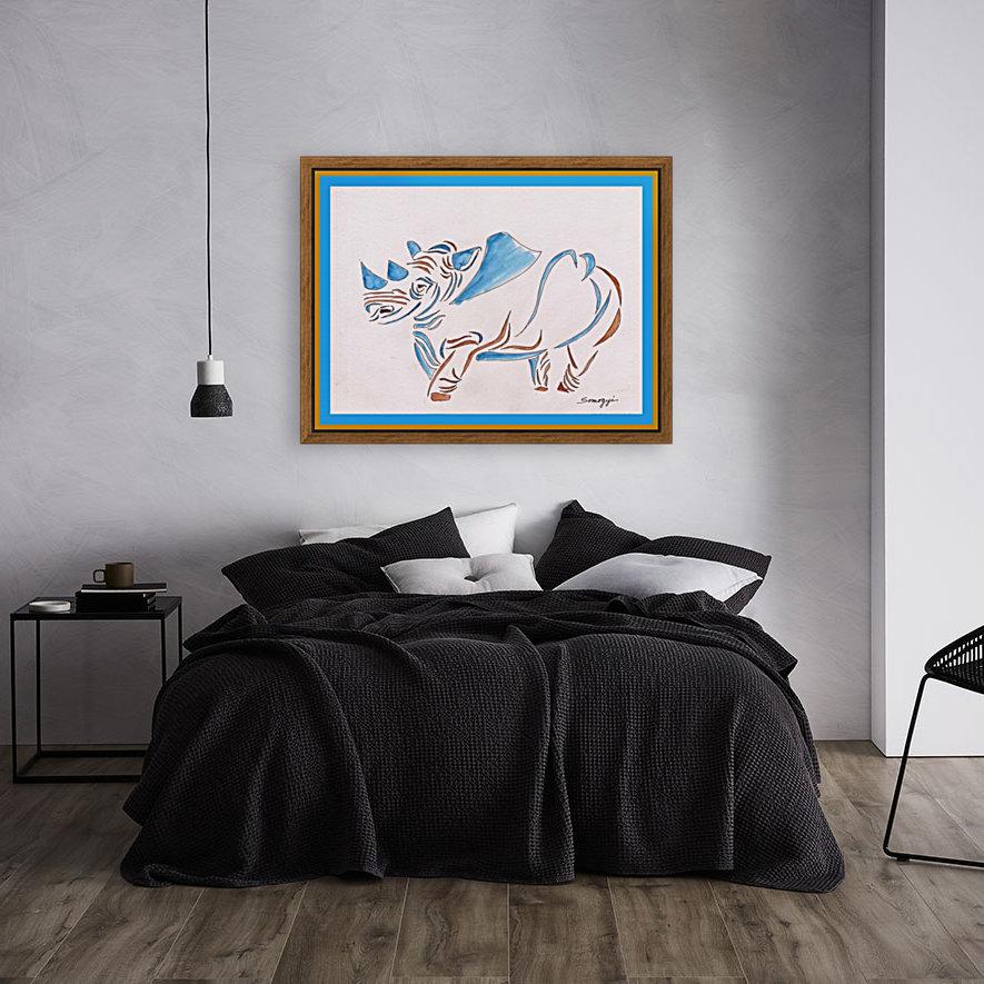 Do Rhinos Come in Blue  Art