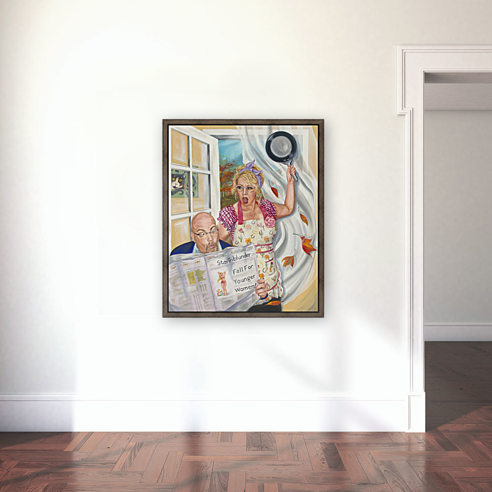 Fall for Younger Women  Art