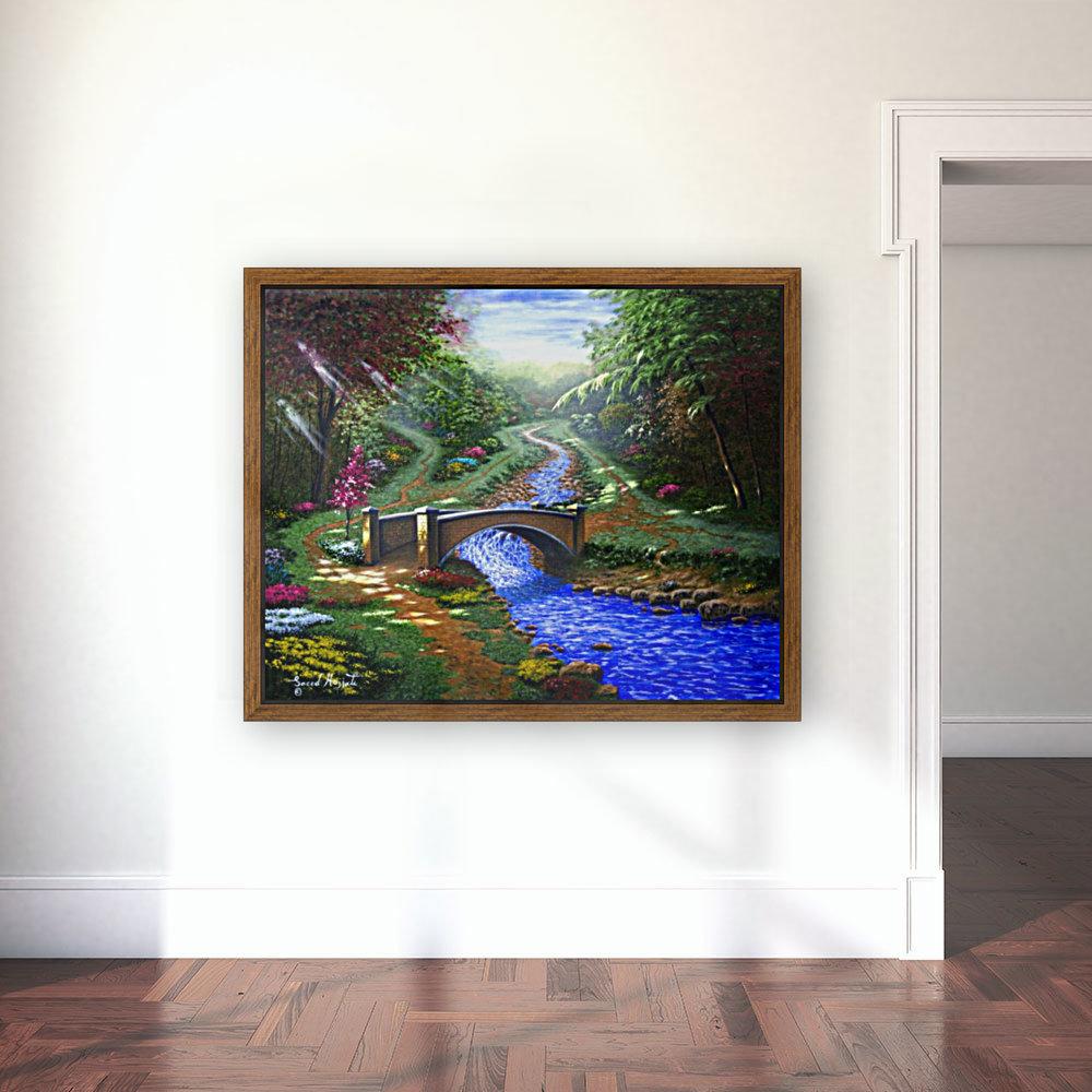 Forest Stream  Art