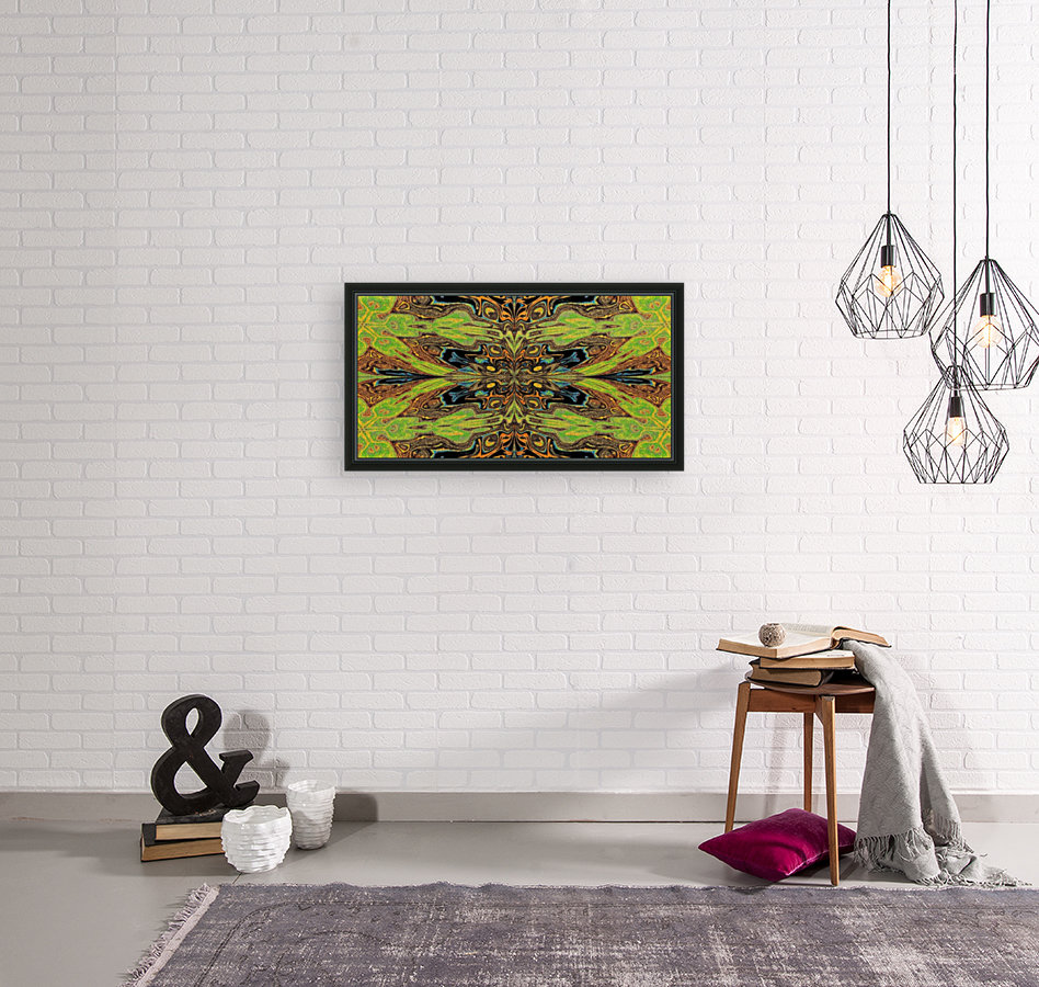 Garden Butterfly with Floating Frame