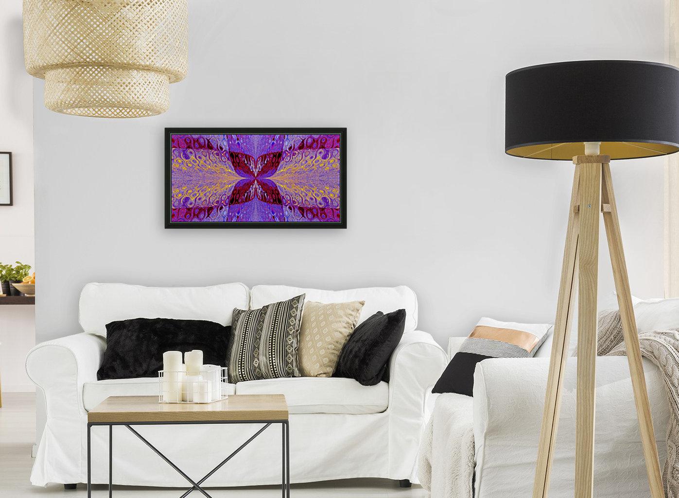 Butterfly in Crystal 46  Art