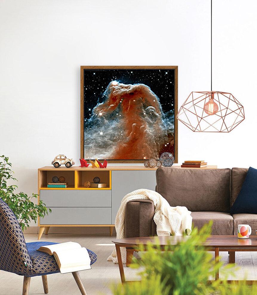 Horsehead Nebula In Space  Art