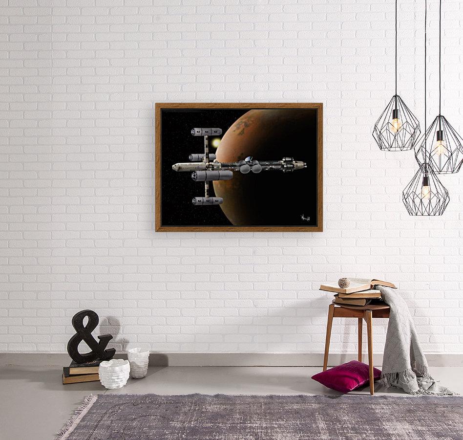 Copernicus in Mars Orbit  Art