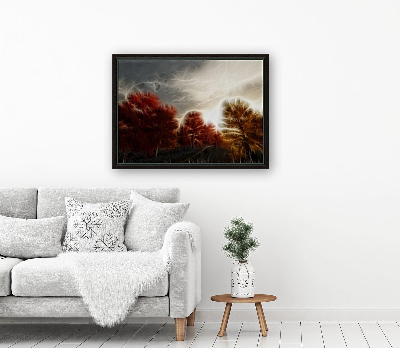 Impressionist Autumn Scene  Art