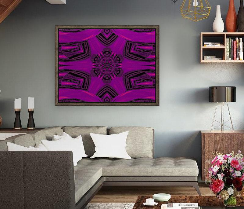 Purple Desert Song 37  Art