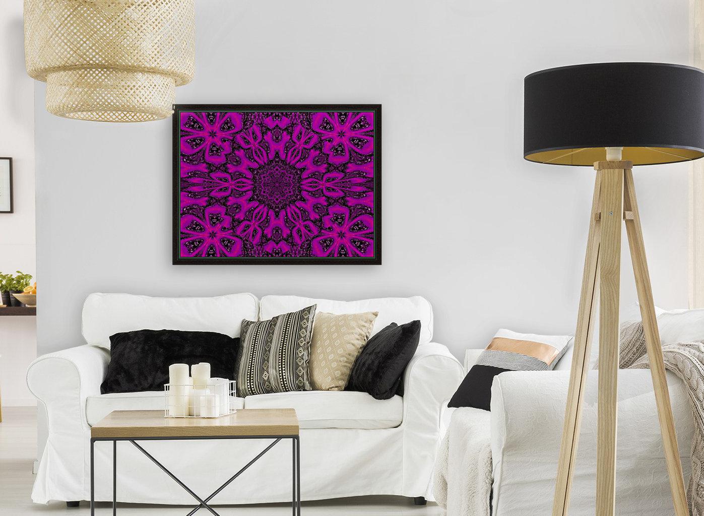 Purple Desert Song 38  Art
