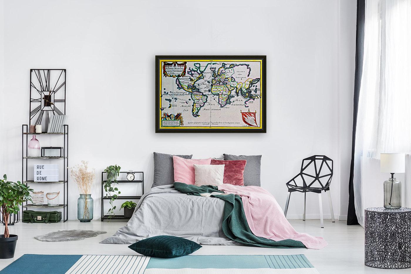 Ancient World Map 4  Art