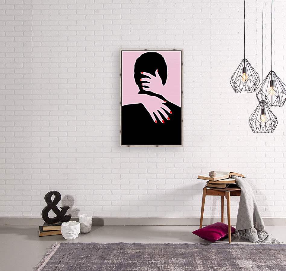 poster the hands embrace love  Art
