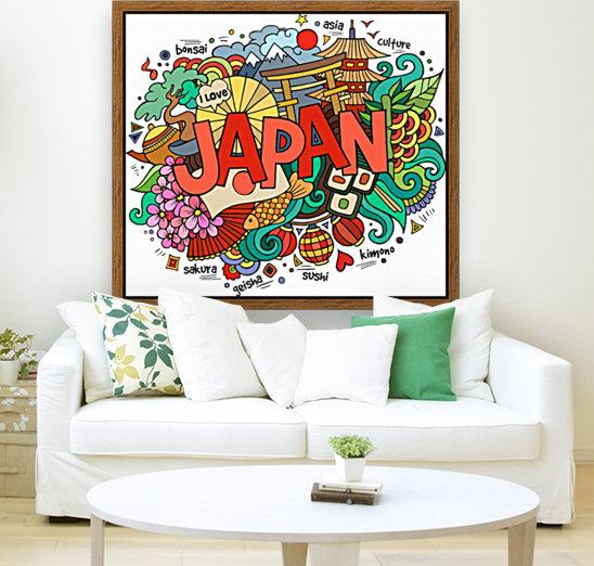 Earthquake and tsunami drawing japan illustration  Art