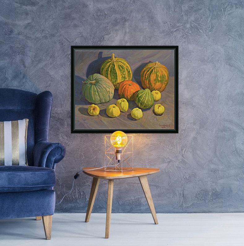 Pumpkins_And_Apples  Art