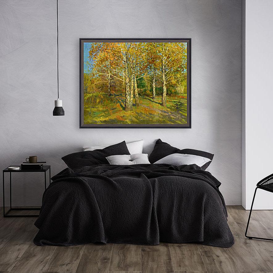 Birch_Trees_In_Tsaritsyno  Art