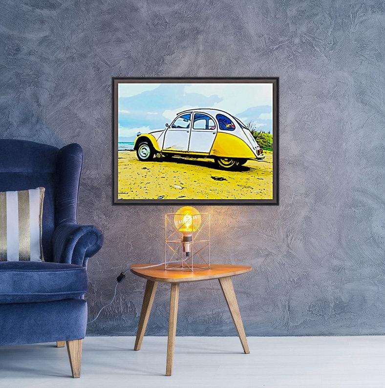 Beach Car  Art
