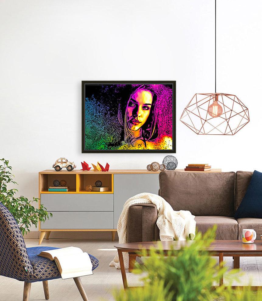 MultiColor Girl  Art