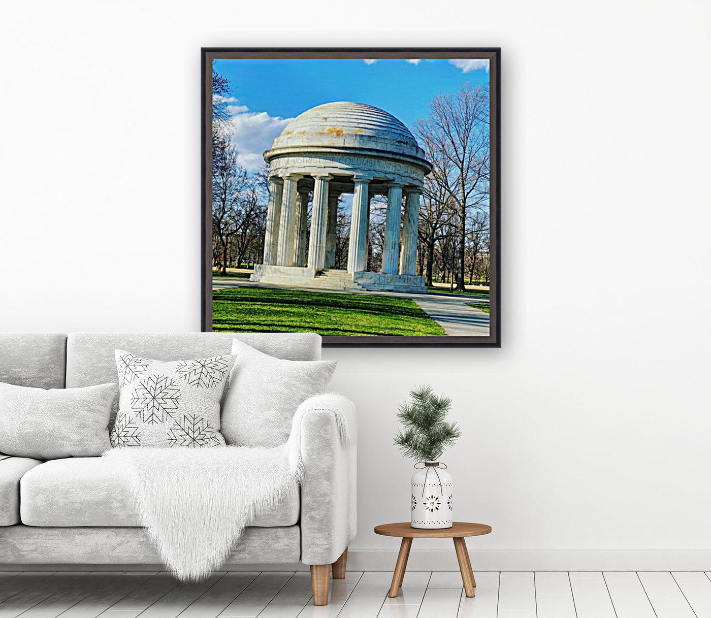 DC War Memorial  Art