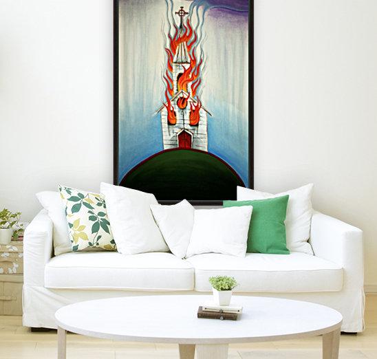 Burning Church  Art