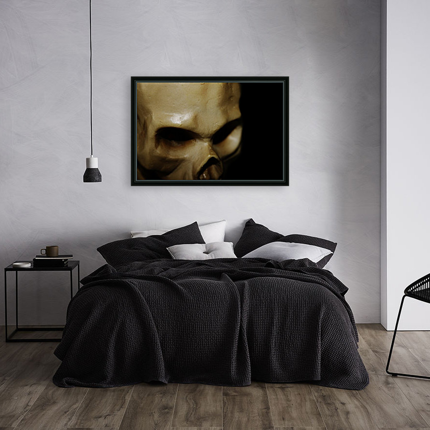 Skeleton Head  Art