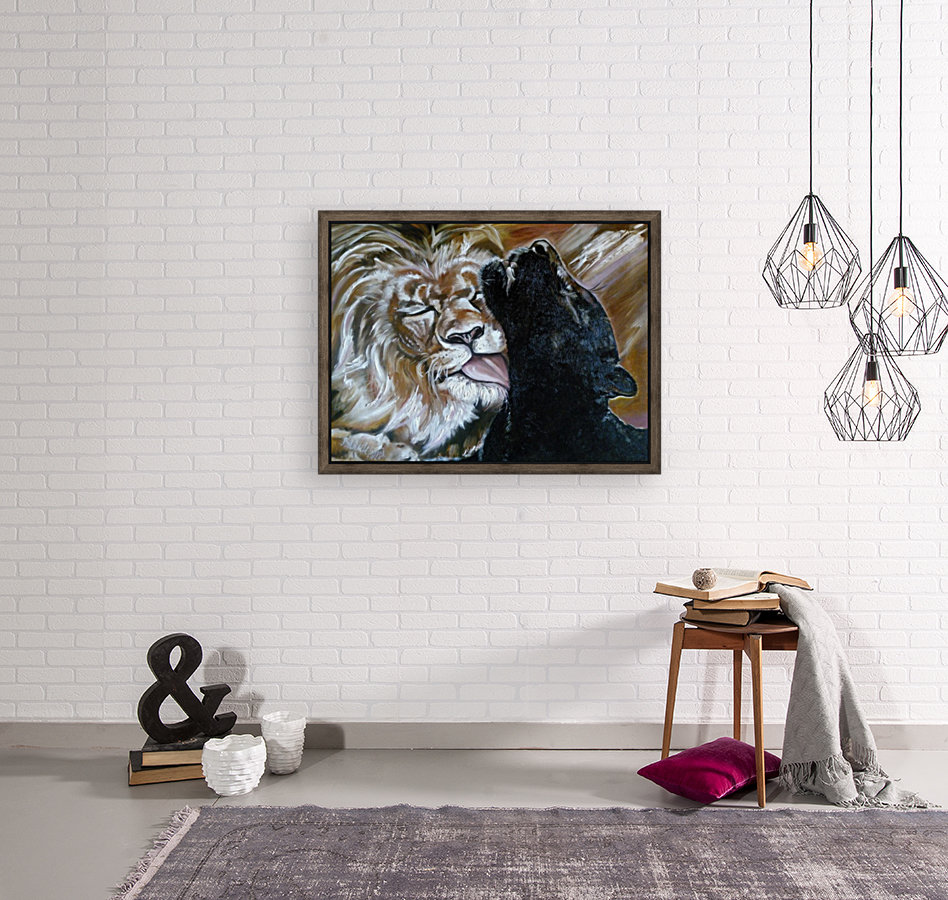 The Lion and the Panther  Art