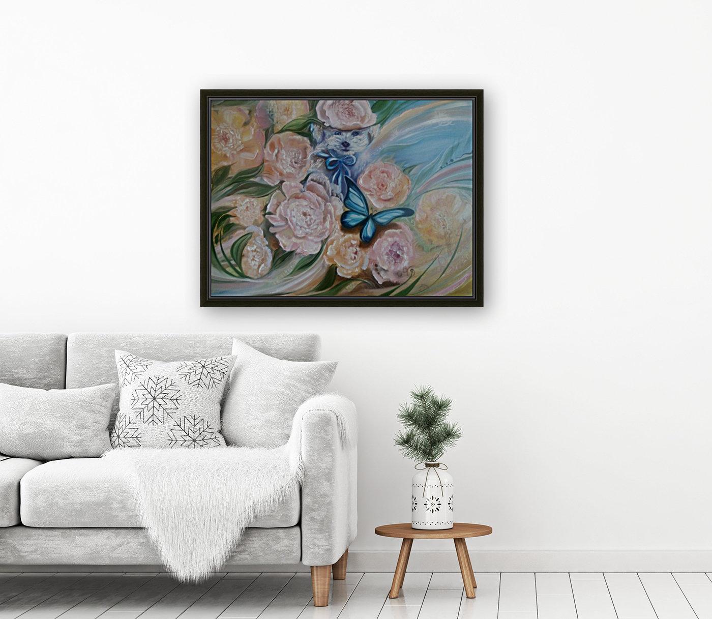 Flowers. Miracle.  Art