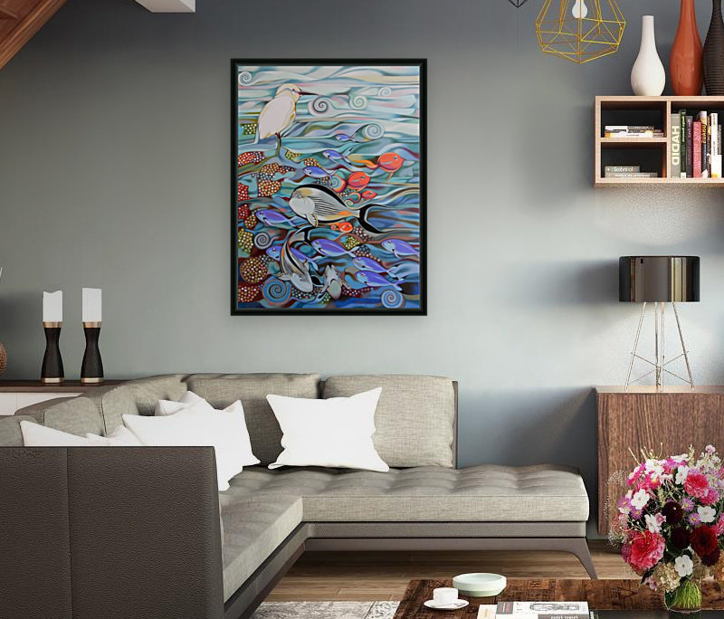 Memory of the coral reef  Art