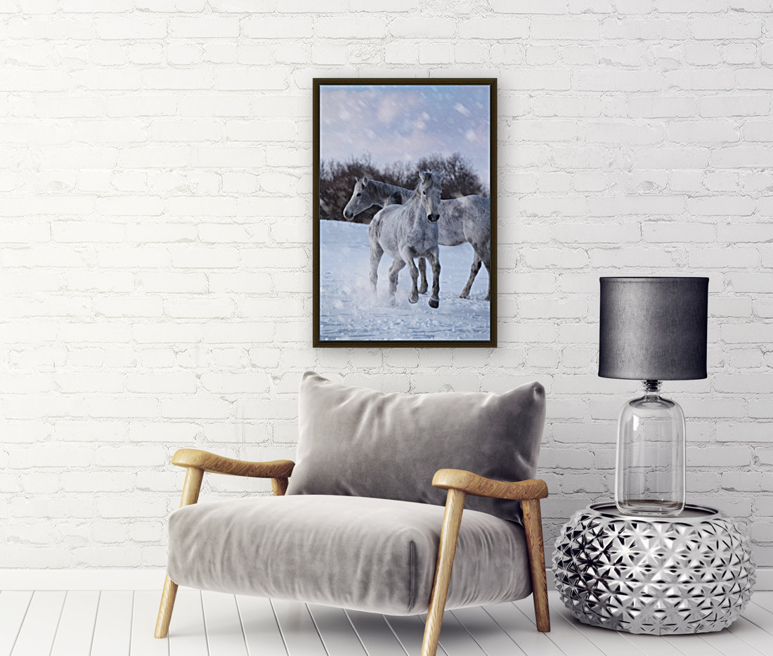Horses in the Snow  Art