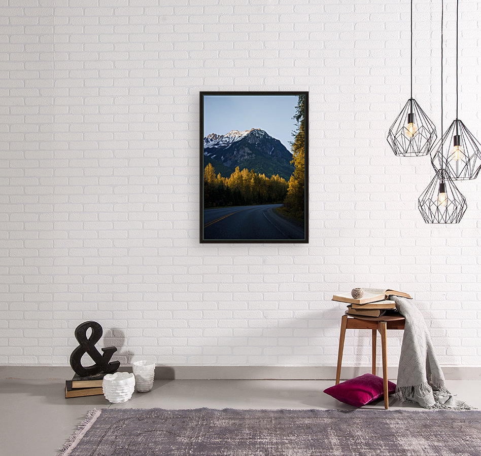 Scenic Drive with Floating Frame
