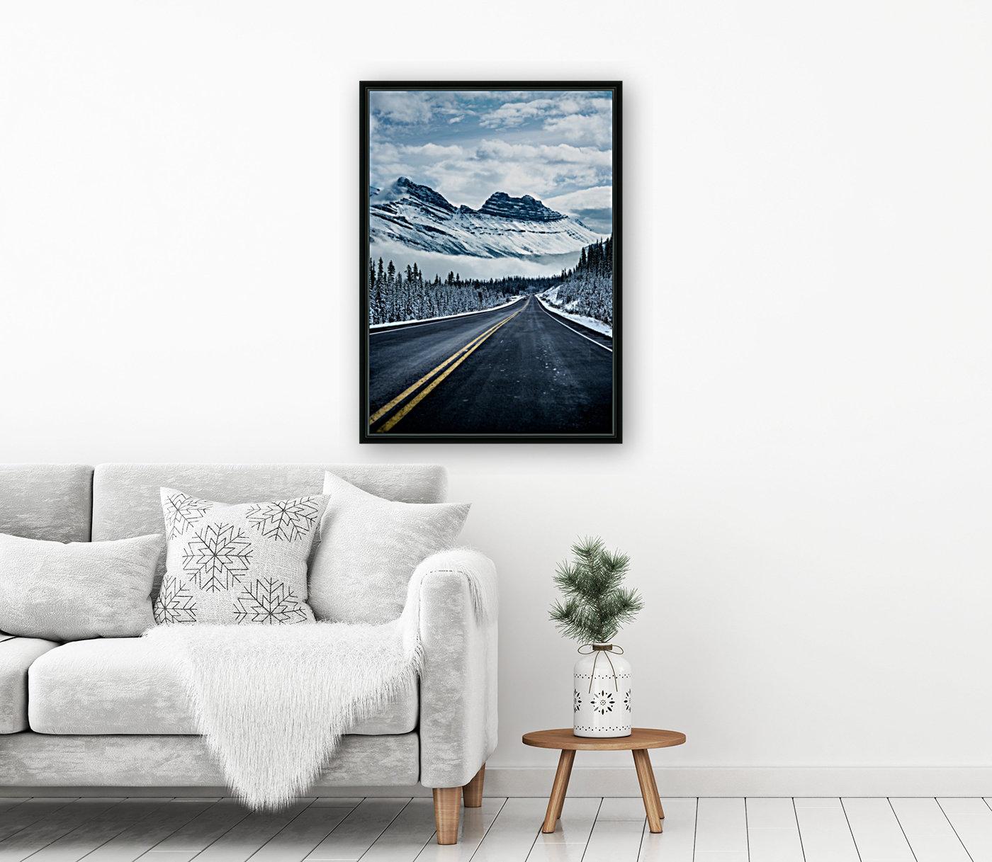 Icy Roads  Art