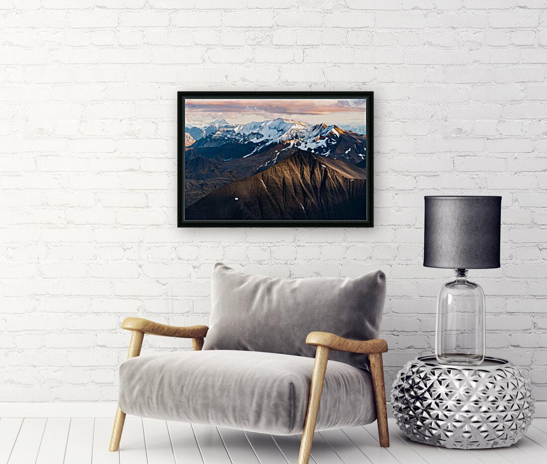 Alaskan Mountains  Art