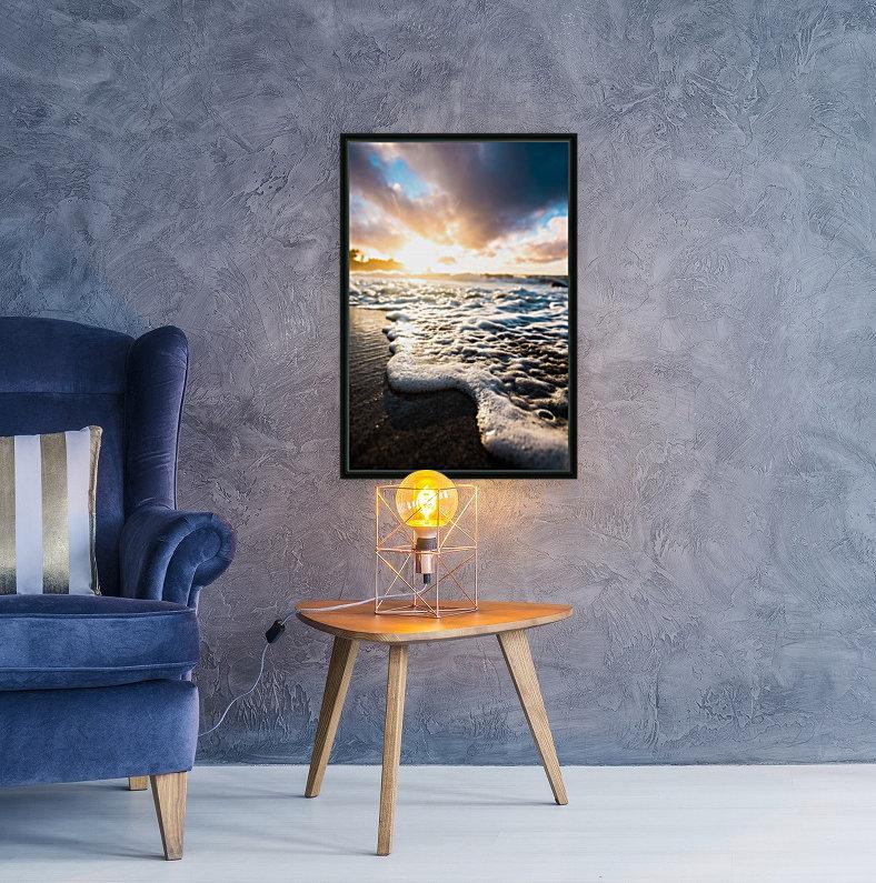 Seafoam Sunrise  Art